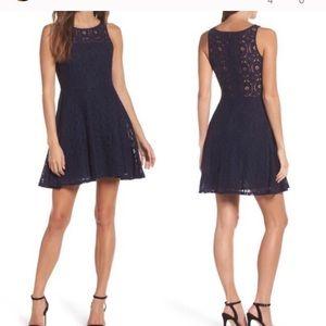 BB Dakota Renley lace sleeveless dress